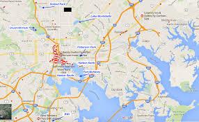 Jhu Campus Map Great Runs In Baltimore U2013 Great Runs U2013 Medium