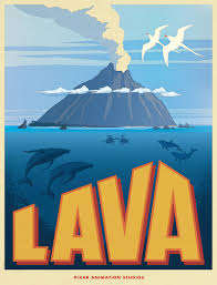 poster art and story info for pixar u0027s new short film lava u2014 geektyrant