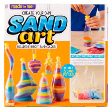 made by me sand art activity kit by horizon group usa walmart com