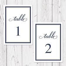 what size are table number cards navy and gold wedding table numbers cards professionally printed