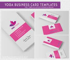 yoga business card templates best business card psd templates