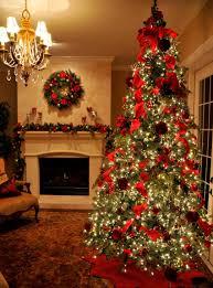Christmas Tree Ribbon Decorating Images Of Geo Mesh Christmas Tree Home Design Ideas Garland Ribbon