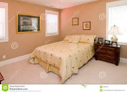 couleur de la chambre chambre à coucher de corail simple de couleur photo stock image du