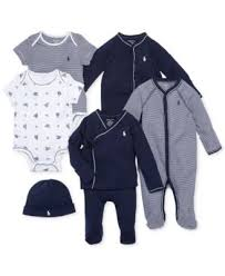 ralph baby coverall baby boys solid coverall sets