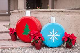 Homemade Outdoor Christmas Tree Decorations by 34 Outdoor Christmas Decorations Ideas For Outside Christmas