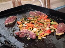cuisiner avec la plancha magret de canard mariné au miel cuisson à la plancha la