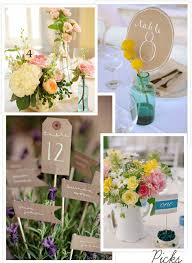 Wedding Table Number Ideas Table Number Ideas Simple And Chic Ideas For Table Numbers