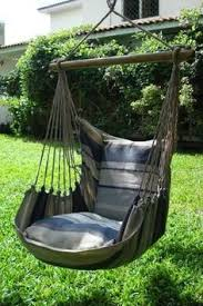 macreme swing for the avocado tree in the yard for the home