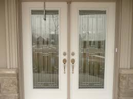 exterior glass door inserts winchester decorative stained glass door insert installation