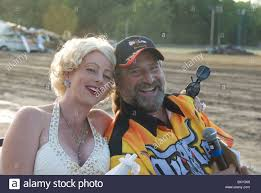 monster truck shows in indiana amy as marilyn monroe with event announcer at laporte county stock