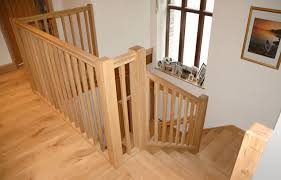 Solid Banister Andrew Lane Furniture Solid Oak Staircase