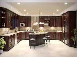 kitchen brown wood kitchen cabinet chocolate wood kitchen island