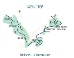 Austin Greenbelt Map by Greenbeltnow Hashtag On Twitter