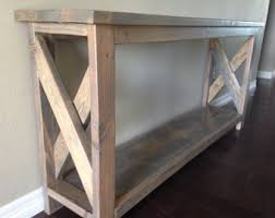 Wood Entry Table Wood Entry Table Etsy
