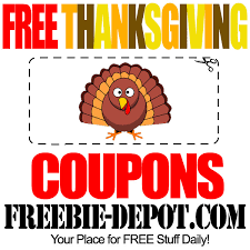 free thanksgiving coupons free printable thanksgiving coupons