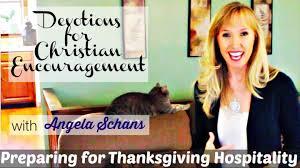 preparing for thanksgiving hospitality devotions for christian