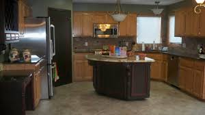 What Color To Paint Kitchen by Painting Oak Cabinets Grey Modern Kitchen Paint Colors Ideas