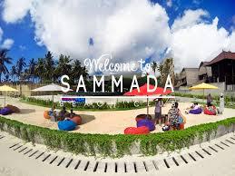 welcome to sammada beach club nusa lembongan bali indonesia