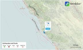 San Simeon Map San Gregorio Fault Map Big Sur Landslides Pinterest Big Sur