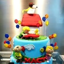 snoopy cakes best birthday cake snoopy images cakes and cookies on food