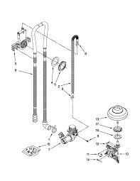 kenmore undercounter dishwasher parts model 66513293k110 sears