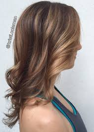 highlighting fine hair 60 looks with caramel highlights on brown and dark brown hair