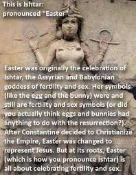 Religious Easter Memes - the ishtar easter meme and pagan anti semitism everyday magic