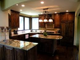 Hickory Cabinets Kitchen Bathroom Astounding Our Kitchen Cabinets Knotty Alder Walnut