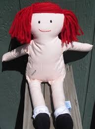 free 1994 15 soft madeline doll embroidered