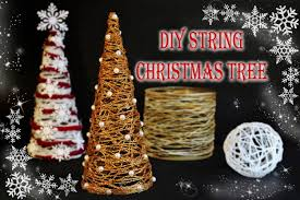 Homemade Christmas Tree by Diy String Christmas Tree Youtube