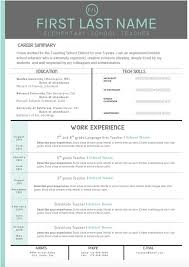 Sample Of A Cover Letter For Resume by Best 25 Teacher Resume Template Ideas On Pinterest Resume