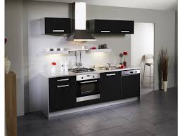 cuisine au lave vaisselle cuisine 7 meubles dinah extension lave vaisselle noir brillant