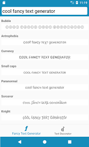 cool fancy text generator android apps on google play