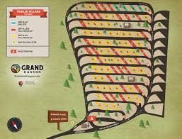 Grand Canyon Maps Maps And Directions Yavapai Lodge Trailer Village Desert View