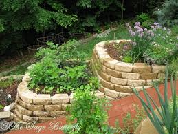 the sage butterfly how we built our tiered raised bed vegetable