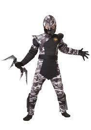 Boys Army Halloween Costumes Kids Arctic Force Ninja Costume
