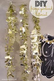 Diy Decorations For New Years Eve by 25 Best New Year U0027s Decorating Ideas Images On Pinterest New