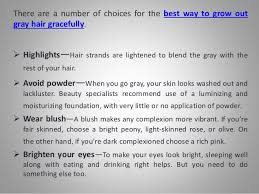 how to grow in gray hair with highlights best highlights to cover gray hair wow com image results