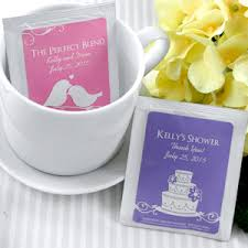 tea bag favors personalized tea bag favors many designs