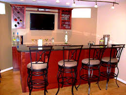 bathroom winning retro basement bar idea wooden and cabinet
