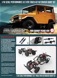 rc4wd gelande ii rtr truck kit w cruiser body set