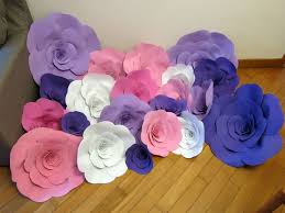 Wedding Backdrop Ebay 479 Best Paper Flowers Images On Pinterest Paper Flowers Apple