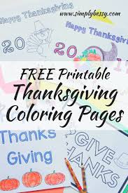 free printable thanksgiving coloring pages simply bessy