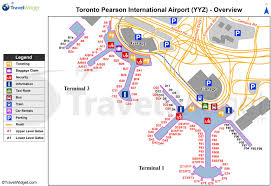Detroit Metro Airport Map by Yyz Airport Map Yyz Map Canada