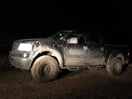 Ford Trucks Mudding - took my u002706 f 150 mudding the other night 4wd came in handy to