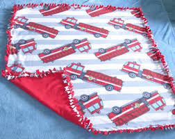 fire truck bedding etsy