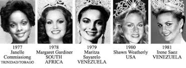 miss universe winners miss universe title holders from 1952 2013