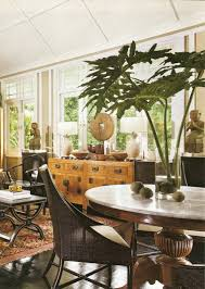 singapore dining room black white house british colonial west
