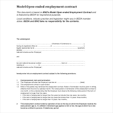 9 employment contracts for restaurants cafes and bakeries