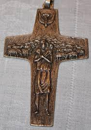 pectoral crosses a closer look at francis s pectoral cross novus ordo